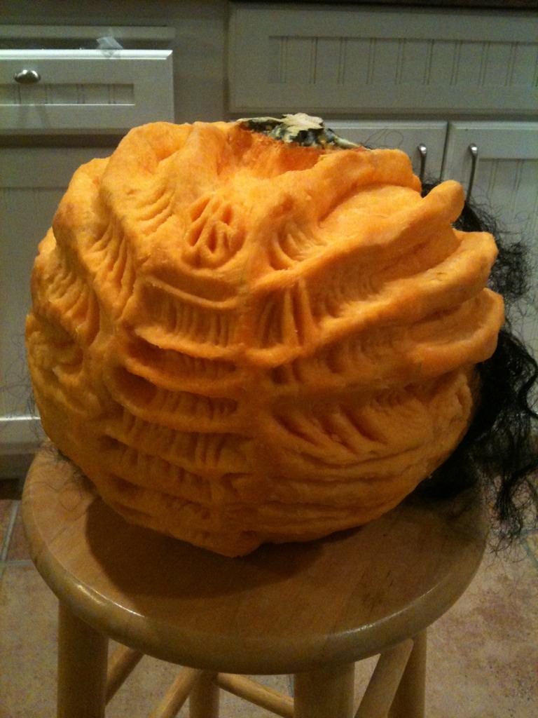 Facehugger Aliens Pumpkin