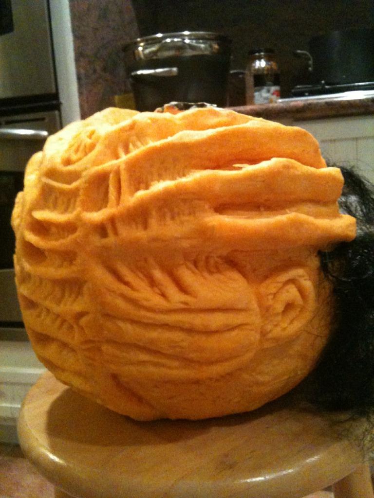 Facehugger Pumpkin