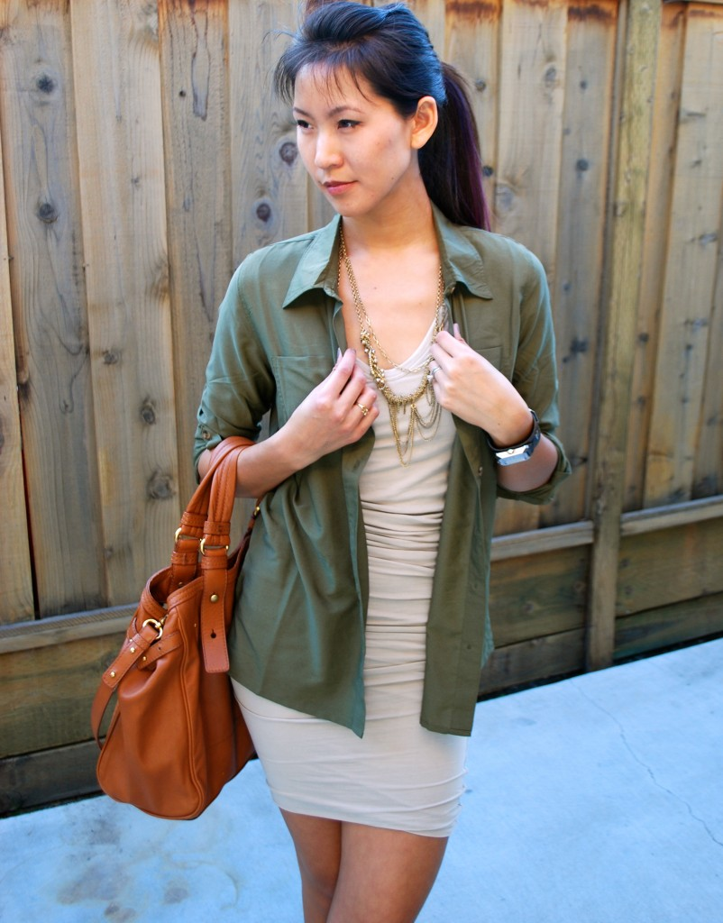 Outfit - James Perse and Olive Shirt