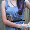 H&M Lilac Dress - accessories