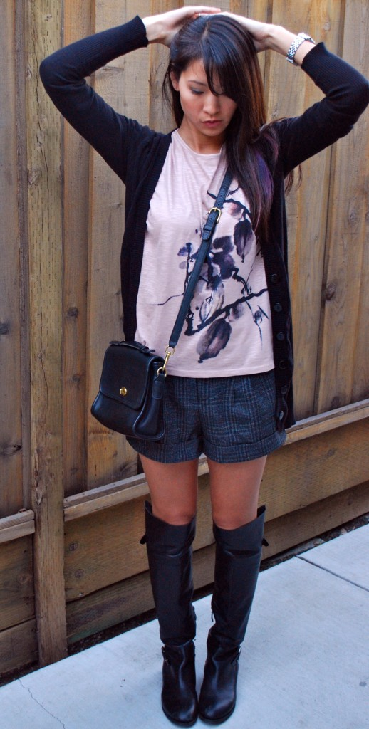 213dc887bd3 outfit - plaid shorts and boots Girls ...