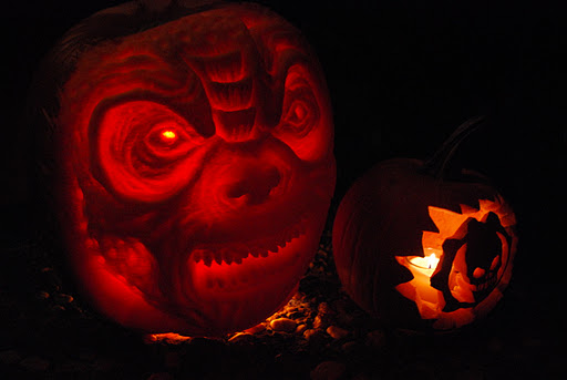 Gears of War Locust Pumpkin