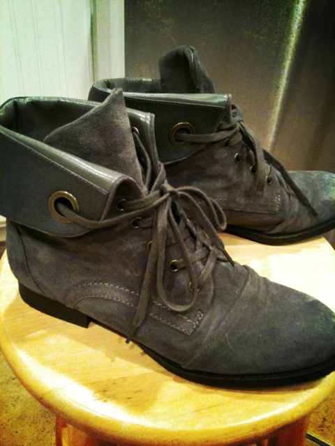 Nine west and peroxy boots