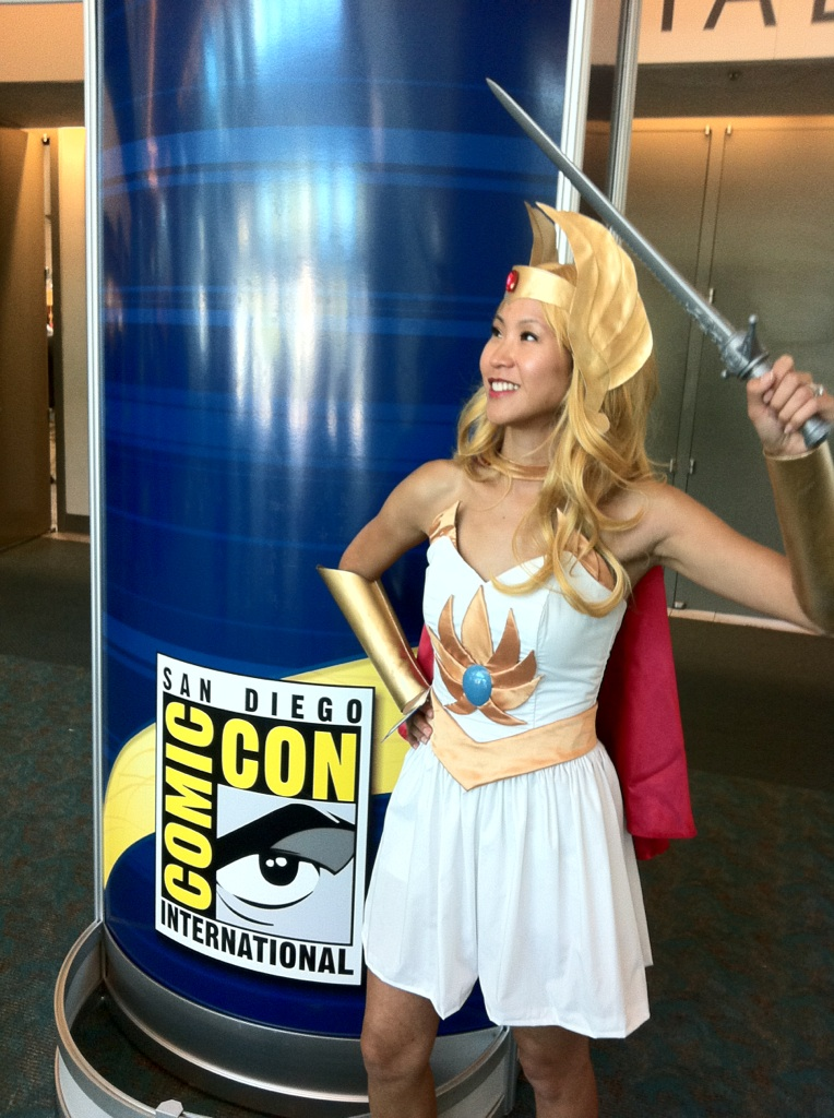 For the Honor of GraySkull.... I AM SHE-RA!
