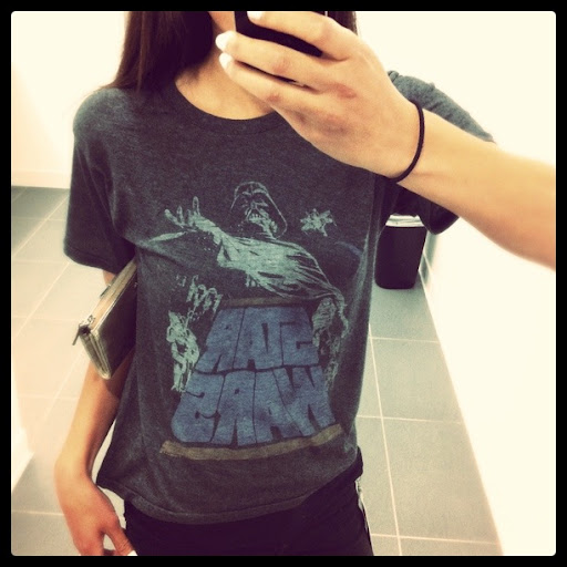 Star Wars Junk Food Box Shirt
