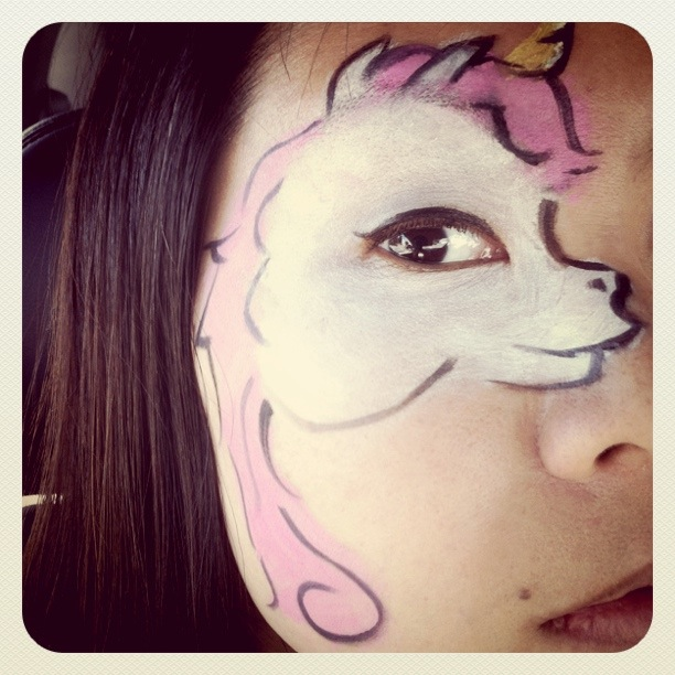My Little Pwny Face Painting
