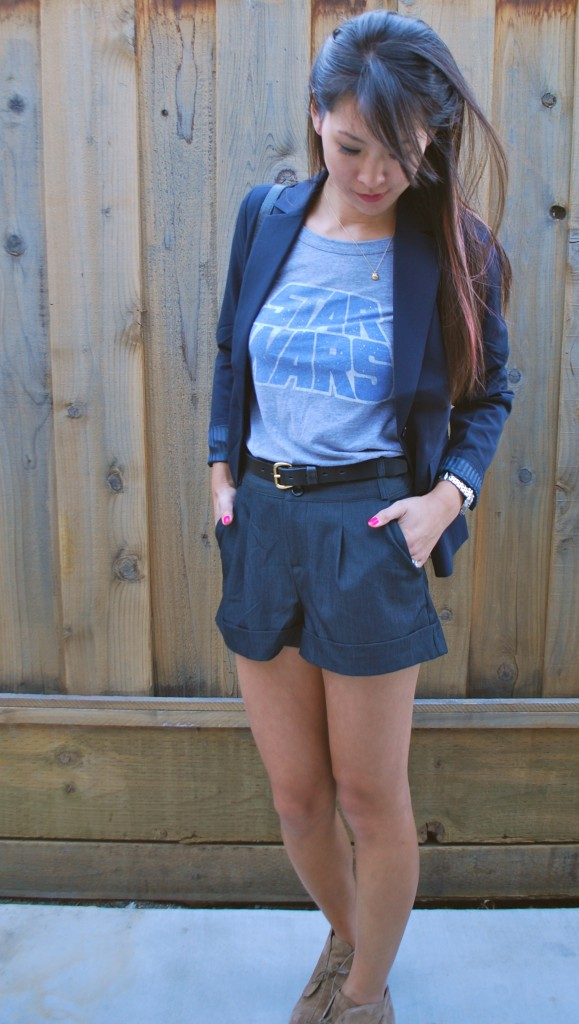 Star Wars Shirt and Blazer Outfit