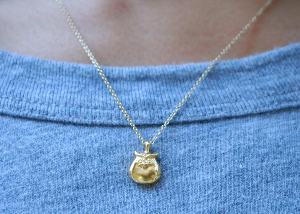 Dogeared Owl Necklace
