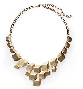 Geometric Box Necklace
