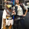 Female Han Solo and Leia Boushh - San Diego Comic Con 2012