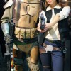 Female Han Solo and Boba Fett Cosplay - San Diego Comic Con 2012