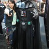Female Han Solo and Darth Vader cosplay- San Diego Comic Con 2012