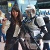 Female Han Solo and Scout Trooper Cosplay- San Diego Comic Con 2012