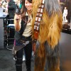 Female Han Solo and Chewbacca Cosplay - San Diego Comic Con 2012
