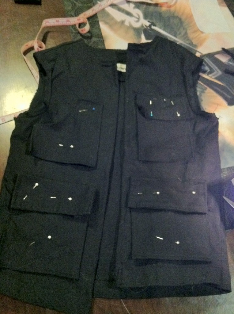 Han Solo Vest Pockets Cosplay Tutorial