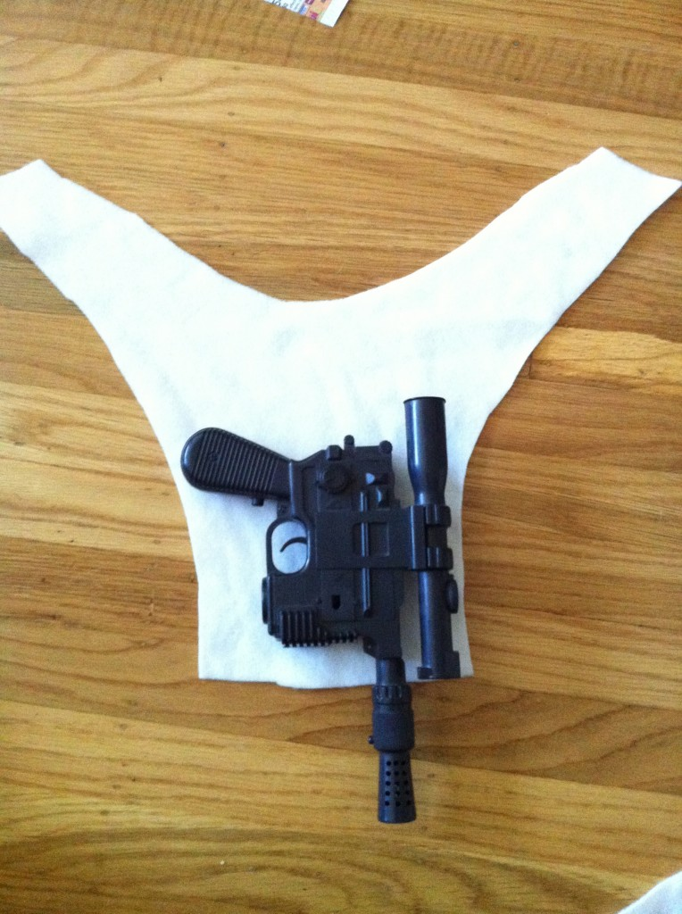 Han Solo Gun Holster Cosplay Tutorial