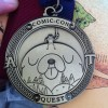 Adventure Time Quest Scavenger Hunt Medal - San Diego Comic Con 2012