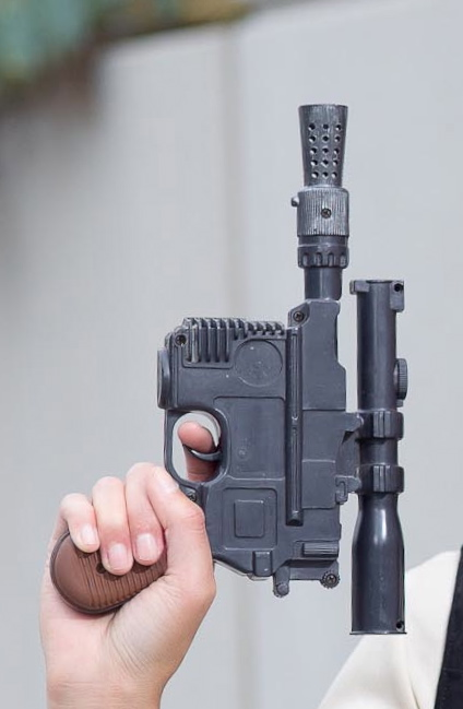 Han Solo Gun Cosplay Tutorial