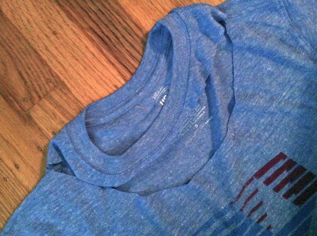 Diy How To Cut A T Shirt Olympics Edition The Stylish Geek