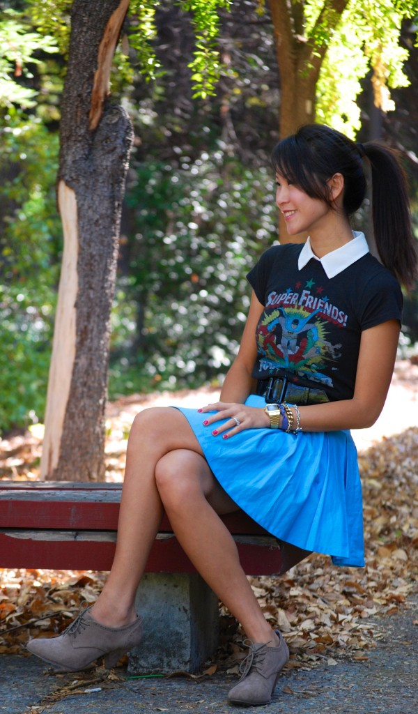 Super Friends Forever Justice League Shirt and Skirt