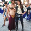 Cross Gender Han Solo and Slave Leia Crossplay