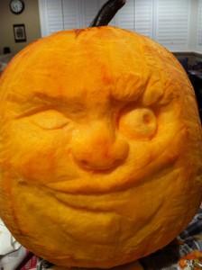 Two Face Pumpkin The Stylish Geek