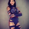 Olivia Munn X-Men Apocalypse Psylocke Cosplay