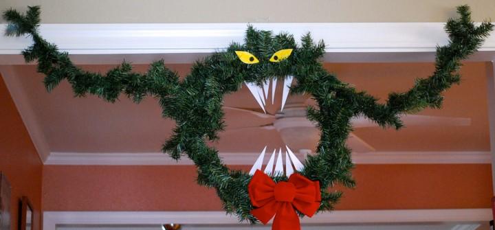 DIY Nightmare Before Christmas Haunted Mansion Wreath Tutorial