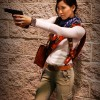 Female Nathan Drake Cosplay (Shooting) - Wondercon 2013