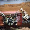 Rey on Speeder Cosplay - SDCC 2015