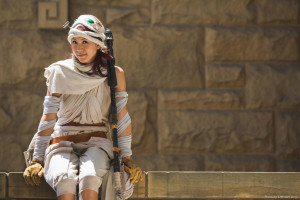 The Force Awakens Rey Cosplay - the stylish geek