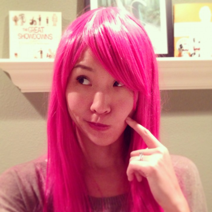 Princess Bubblegum Pink Wig