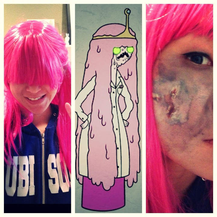 Zombie Princess Bubblegum cosplay