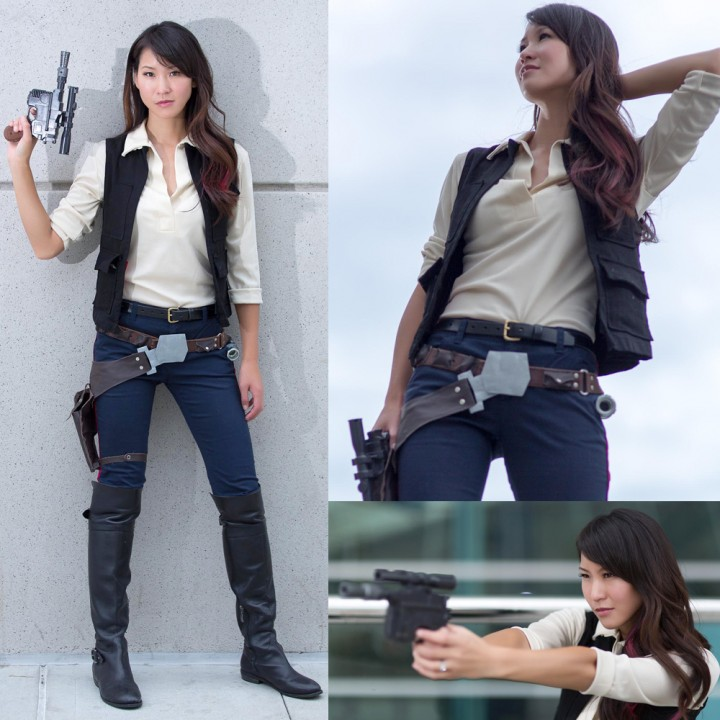 Geekie Awards Han Solo Cosplay