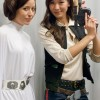 Scruffy Rebel as ANH Leia