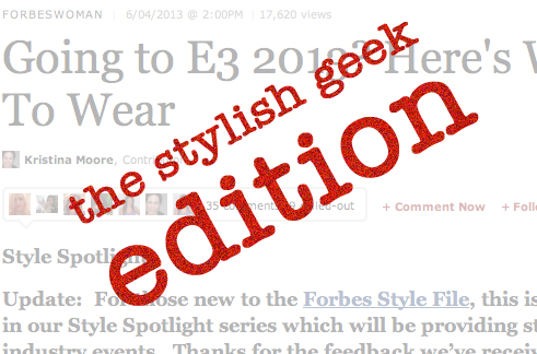 Going to e3 2013 forbes article
