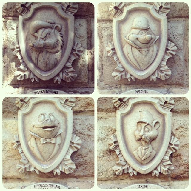 Mr Toads wild ride Disneyland