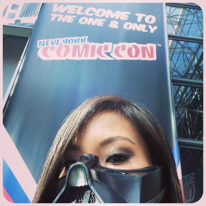 Lady Vader at New York Comic Con 2013