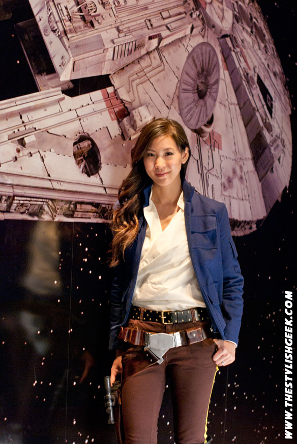 Female Han Solo Empire Strikes Back