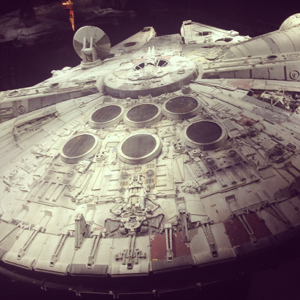 Millenium falcon san jose tech museum star wars where for Star wars museum san francisco