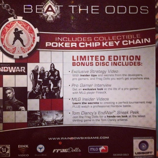 #tbt that time we were on the back of a game cover! @rhoulette @calyber99 @nellymorel @brookelynfd @valkyriefd @jinxcellent @fragdolls @ubisoft #ubisoft #fragdolls #rainbowsix #gaming #girlgamers #thestylishgeek #rainbowsixvegas #xbox