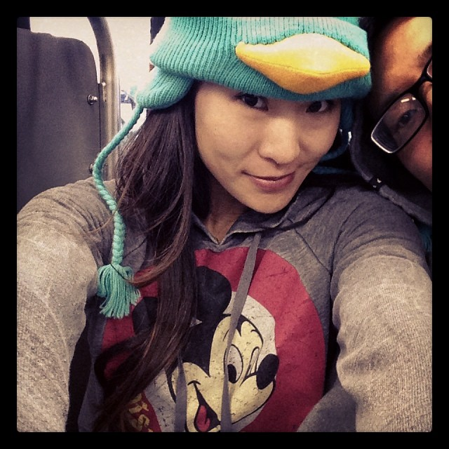 Time to relax and go to #disneyland! #perry #mickey