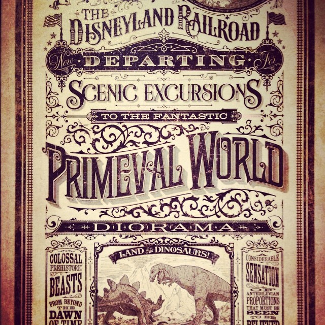 Yay! Just bought another Jeremy Fulton piece! #disneyland #art #disneyart #railroad #dlrr #disney