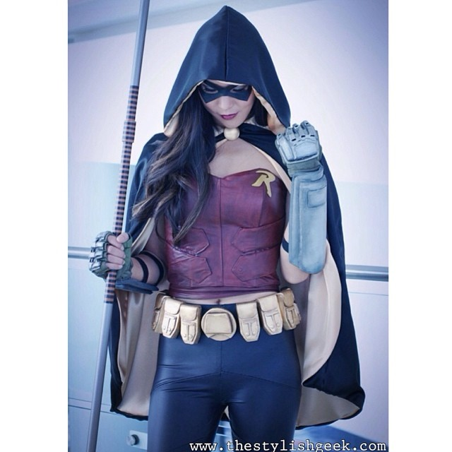 Recap and tons of photos from #wondercon up on the blog! {www.thestylishgeek.com} Thanks for such a fun weekend! #robin #arkhamcity #cosplay #batman #videogames #gaming #geek #thestylishgeek #leather #costume