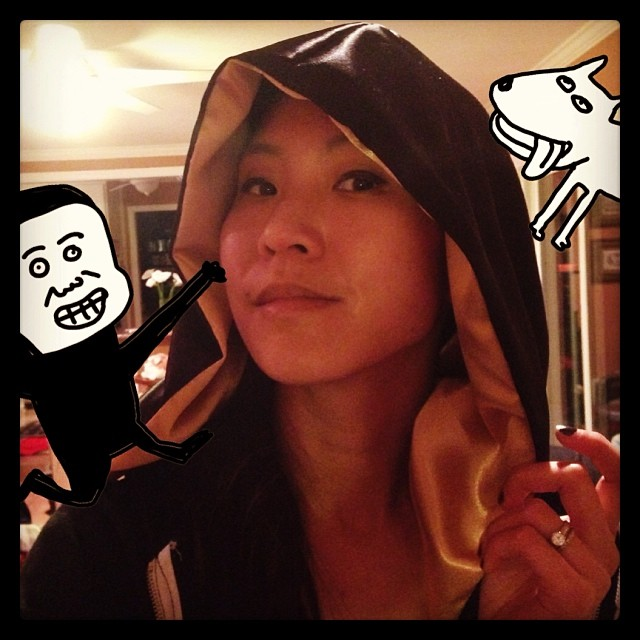 Under the hood. Finally making more progress! #cosprogress #cosplay #wondercon #cape #thestylishgeek #dc #comics
