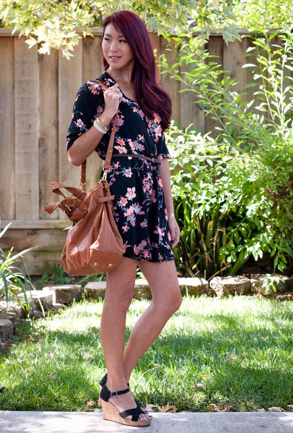 Lush Floral Tunic Dress