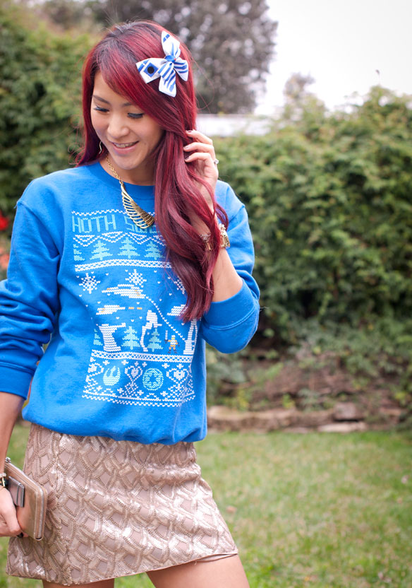 Star Wars Hoth Ugly Christmas Sweater
