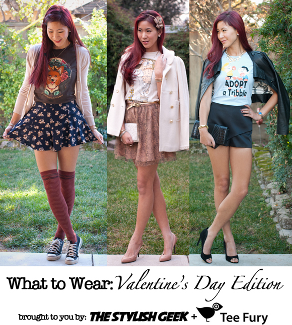 Geeky Valentine's Day Outfits - Tee Fury