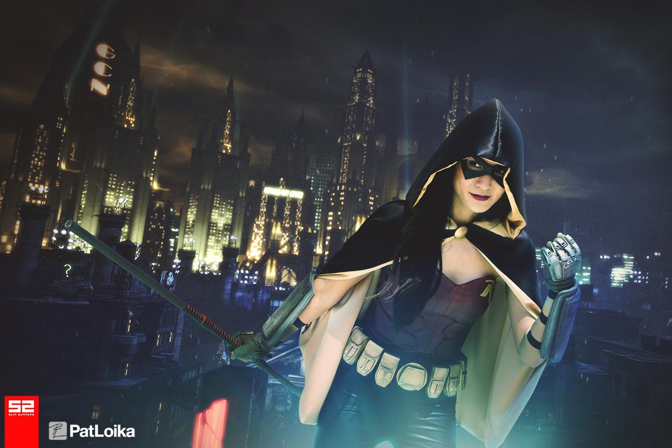 The Stylish Geek Arkham City Robin Cosplay
