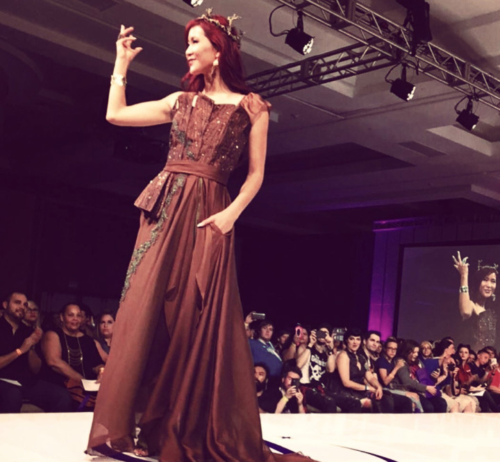 She is Groot - Her Universe Geek Fashion Show SDCC 2015